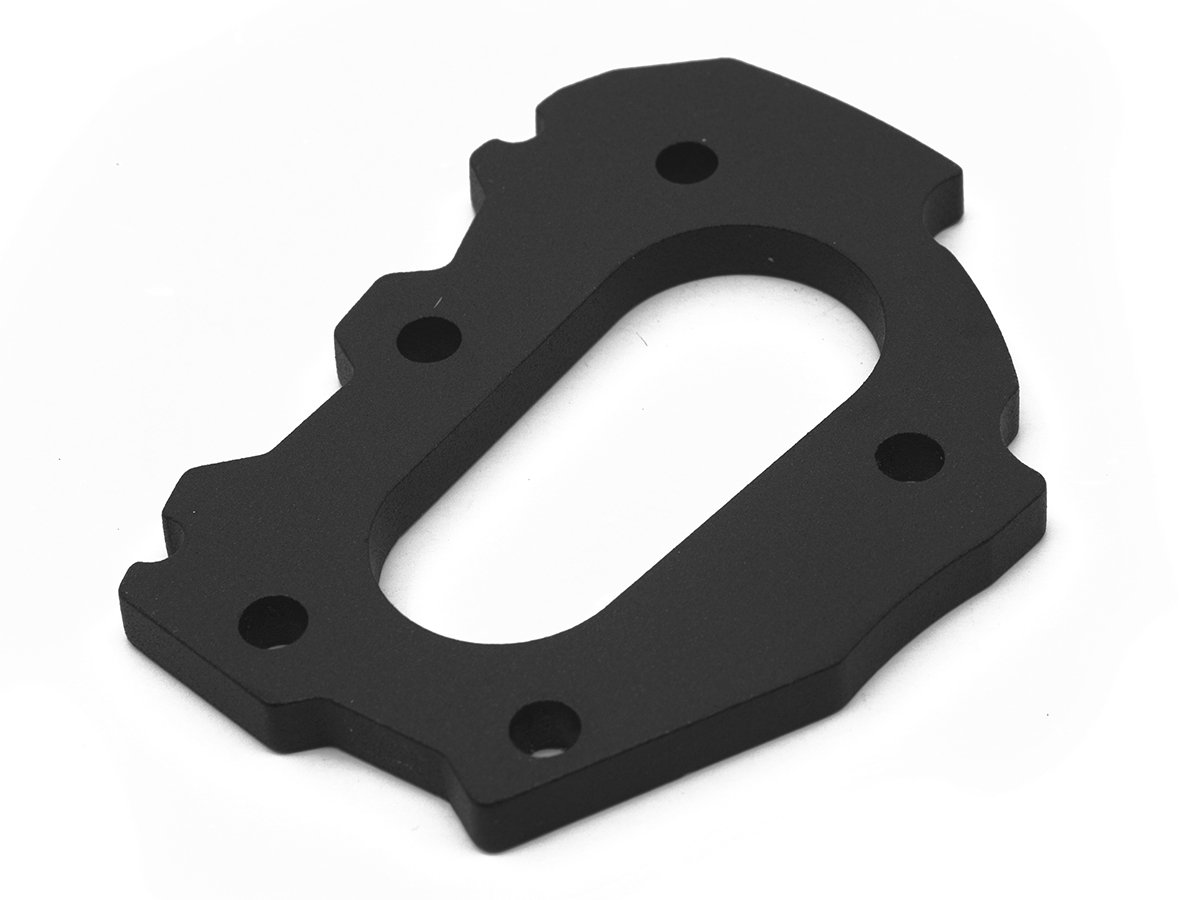 Altrider R113-2-1120 Side Stand Enlarger Riser Plate for the BMW R 1200 GS/GSA Water Cooled - Black