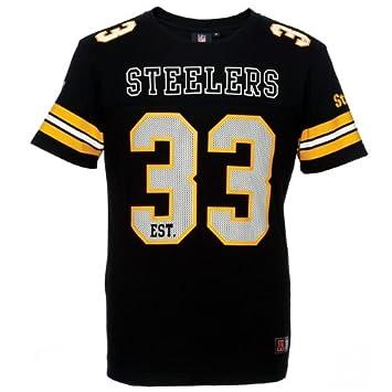 online store b728a 9bd0b Majestic Pittsburgh Steelers Ellsworth '33 Football NFL T ...