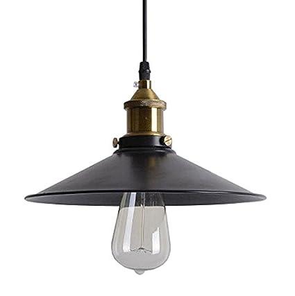 Sanyi 36 * 17 moderno estilo vintage Negro Hierro Retro Vintage lámpara de techo lámpara de techo, lámpara de araña Loft techo lámpara de techo sin ...
