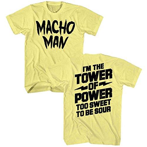 2 Man De Homme American Face Tee Pour Wwf Du shirt Lutteur Macho Heavywe Classics Tour 1980 wUCpC4qB