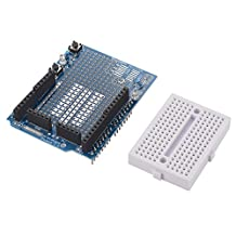 XCSOURCE ProtoShield Prototype Kit Shield Prototyping with 170 Mini Breadboard for Arduino TE569
