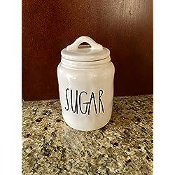 Rae Dunn Magenta Ceramic Canister Sugar