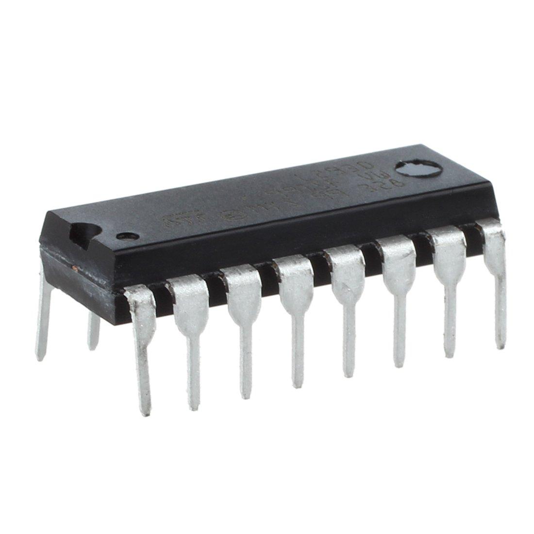 CUHAWUDBA L293D L293 L293B DIP//SOP Insercion-extraccion de cuatro canales motor paso a paso Chip IC