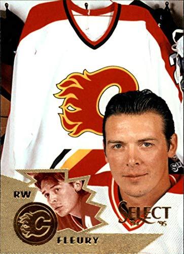 1994-95 Select Calgary Flames Team Set 6 Cards Theoren Fleury