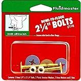 Fluidmaster 7110 2-1/4-Inch Bowl to Floor Bolts by Fluidmaster