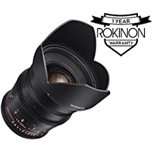 Rokinon DS24M-NEX Cine DS 24mm T1.5 ED AS IF UMC Full Frame Cine Wide Angle Lens for Sony E (Certified Refurbished)