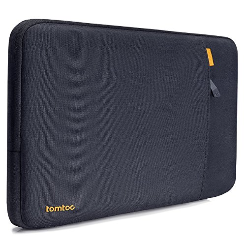 Tomtoc 360° Protective Laptop Sleeve Compatible with Microsoft 15 inch Surface Book 2 2017, 15 inch Ultrabook Notebook Tablet Case Cover with Front Accessory (Logic Front Shocks)