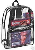 All Clear PVC Backpack by Ensign Peak (Black), Bags Central