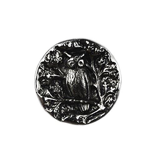 Owl Lapel Pin - Click Image to Close