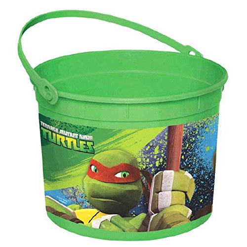 [Teenage Mutant Ninja Turtles Favor Pail] (Superhero Themed Costumes Ideas)