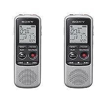Sony ICDBX140 Digital Voice Recorder (2-Pack)