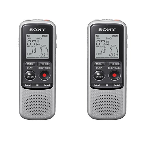 Sony ICDBX140 Digital Voice Recorder (2-Pack)