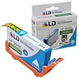 LD © Remanufactured Replacement Ink Cartridge for Hewlett Packard CB323WN (HP 564XL) High-Yield Cyan – Shows Accurate Ink Levels, Office Central