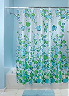 Amazon.com: HipStyle Kona Cotton Printed Shower Curtain Yellow ...