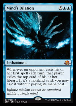 (Magic: the Gathering Mind39;s Dilation (070/205) - Eldritch Moon)