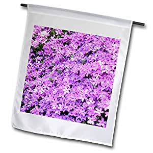 WhiteOak Photography Floral Prints - A Batch of pink flowers - 18 x 27 inch Garden Flag (fl_51793_2)