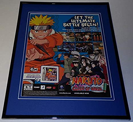 Amazon.com: Shonen Jump Naruto Clash of Ninja 2006 GB 11x14 ...