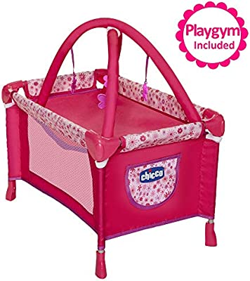 Gift Girls Baby Doll Furniture Bed Playpen Playset for Dolls NEW