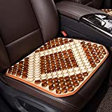 Lqqzq Cushion Summer Car Seat, Wooden Beads Four Seasons Universal Car Seat Cushion Cushion (Color : B)