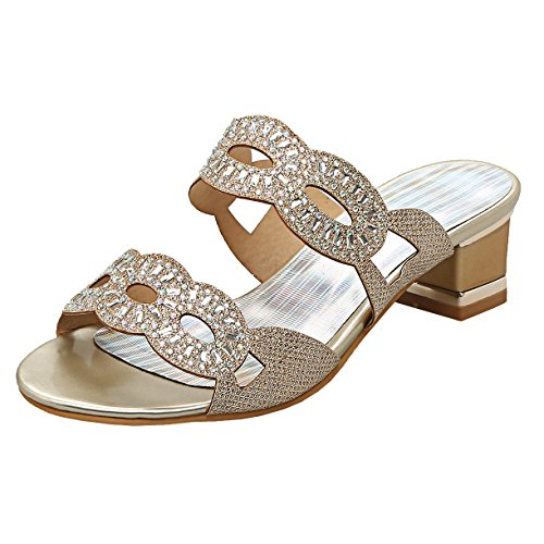 Mules Mules Or Or Femme JYshoes JYshoes JYshoes Femme aWqUnEcq