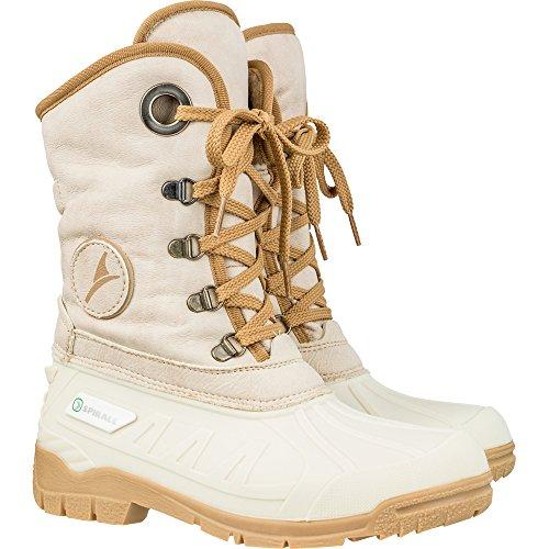 Doublé Beige pour Spirale Cold Boots Femmes 39 Lake 39 104 581420 zzZwqXF