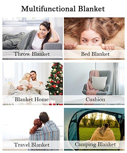 HS Fleece Throw Blanket, Twin, Coral