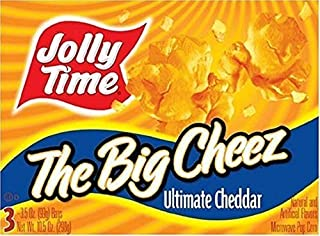 product image for Jolly Time: The Big Cheese Microwave Popcorn (Pack of 12)