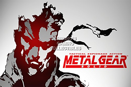 Metal Gear Solid CGC Huge Poster Glossy Finish PS1 PS2 PS3 - MGS103 (24