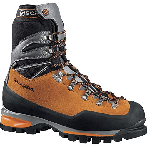 Price comparison product image Scarpa Men's Mont Blanc Pro GTX Mountaineering Boot, Orange, 43.5 EU/10 1/3 M US