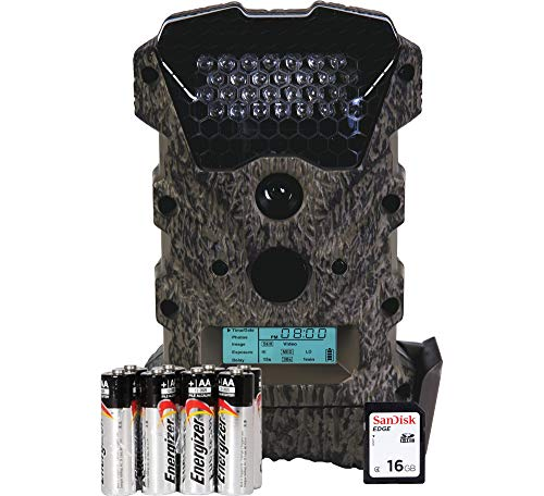 Wildgame Innovations Scrapeline Trail Camera Package - 16 MP (8 x AA Batteries & 16GB SD Card Included)