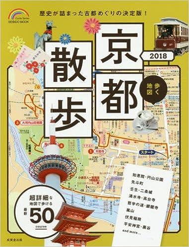 Kyoto Walking Tour Map on