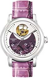 TISSOT LADY HEART LADYS AUTOMATIC SILVER CLASSIC WATCH T0502071603100