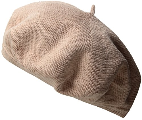 Echo Women's Solid Beret Hat, Blush, One Size