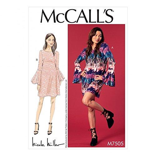 Unbekannt McCall \'s Damen Schnittmuster 7505nbsp;Trompete Sleeve ...