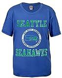 NFL Seattle Seahawks BOYS Kickoff Crew T-Shirt, Liberty Blue
