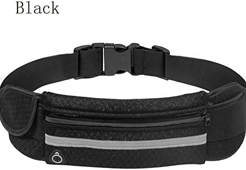 AOCK Running Belt Waist Pack – Water Resistant Runners Belt Fanny Pack for Hiking Fitness Adjustable Running Pouch for All Kinds of Phones