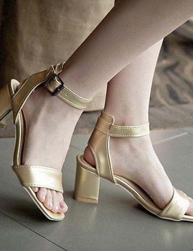 décontractée pour tenue 789 talons femmes blanc argent toe ShangYi Chaussures sandales talons blanc extérieur peep or azgqvawxd