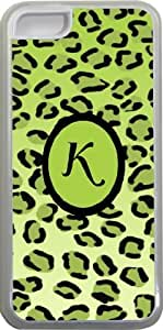 Rikki KnightTM Rikki Knight - Letter S Monogram Initial Rustic Fall Leaves on Wood Flooring Background Design iPhone 5 & 5s Case Cover (White Rubber with bumper protection) for Apple iPhone 5 & 5s