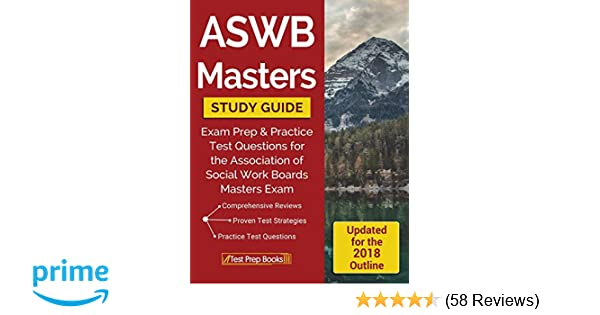 Aswb masters study guide: exam prep & practice test questions for.