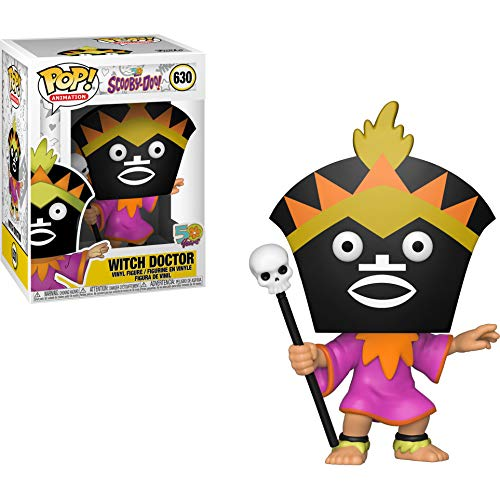Witch Doctor Item (Funko Witch Doctor Pop Animation Vinyl Figure & 1 Compatible Graphic Protector Bundle (39948 -)