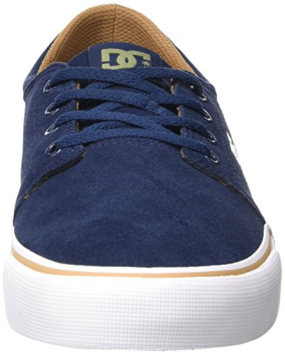 SD Bleu Homme Trase Basses Navy Sneakers Camel Shoes DC EwaqxXYFF