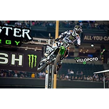 "MOTOCROSS DIRT BIKE JUMP SPORT PHOTO ART PRINT POSTER 40/""x24/"" 008"