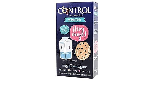 b278c2c18 Control: Caja de condones Wondermix 10 uds. Edición especial Mr.Wonderful:  Amazon.es: Salud y cuidado personal