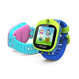 Orbo Kids Bluetooth Phone Pairing Smartwatch with Rotating Camera, Pink
