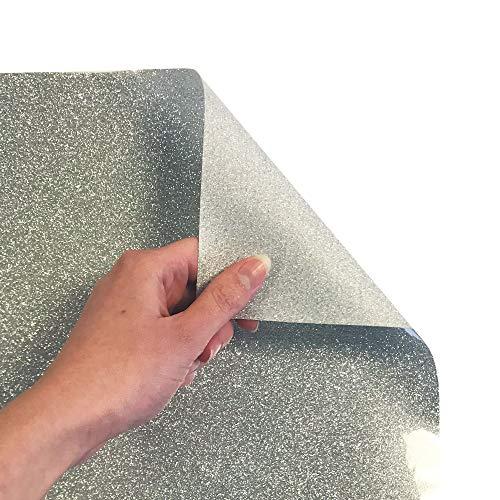 Siser Glitter 11.8''x5yd Roll (Silver, 15ft) by SISER (Image #1)