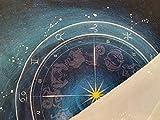 Hippolya Altar Tarot Cloth Blue 12 Constellations