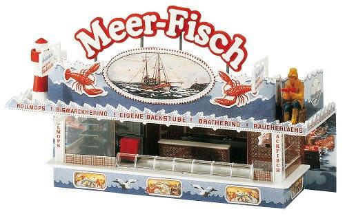 Faller 140445 Fairgrnd Stiefelh Sea Fish HO Scale Building Kit