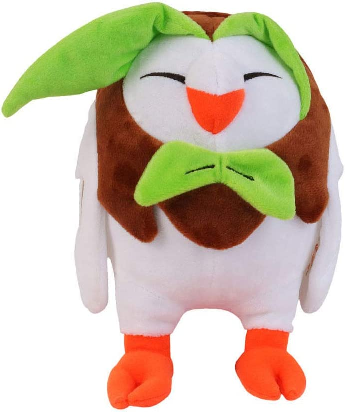 D-Khaleesi Dartrix Figure Animal Toys Sun and Moon Plush Doll 9 inches Collectable Xmas Gift