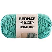 Bernat  Maker Home Dec Yarn - (5) Bulky Chunky Gauge  - 8.8 oz -  Aqua  -   For Crochet, Knitting & Crafting