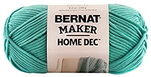 Bernat Maker Home Decor Yarn 8 8 Ounce Aqua